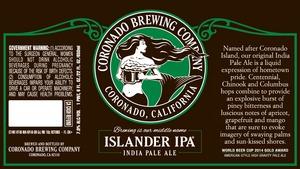 Coronado Brewing Comany Islander IPA