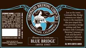 Coronado Brewing Company Blue Bridge Coffee