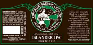 Coronado Brewing Company Islander IPA