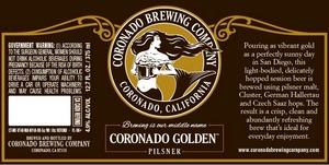 Coronado Brewing Company Golden
