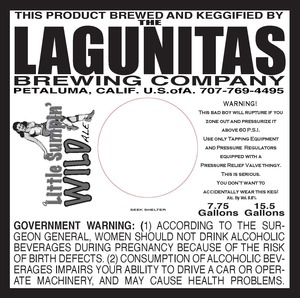 The Lagunitas Brewing Company A Little Sumpin Wild