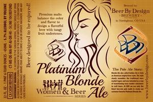 Women & Beer Series Platinum Blonde