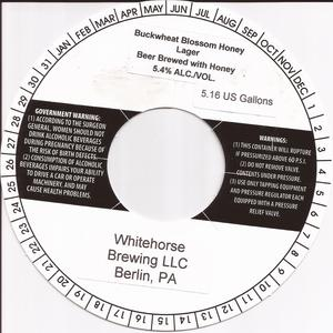 Whitehorse Brewing LLC Buckwheat Blossom Honey