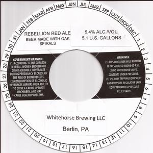 Whitehorse Brewing LLC Rebellion Red Ale