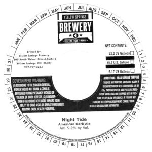 Yellow Springs Brewery Night Tide