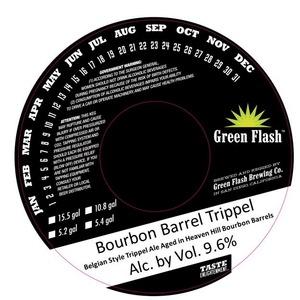 Green Flash Brewing Company Bourbon Barrel Trippel