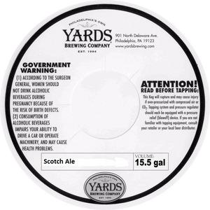 Yards Brewing Company Scotch Ale