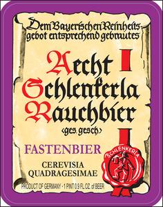 Aecht Schlenkerla Rauchbier Fastenbier
