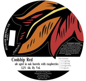 Allagash Brewing Company Coolship Red