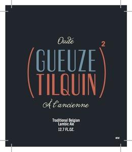 Oude (gueuze Tilquin) 2 A L' Ancienne