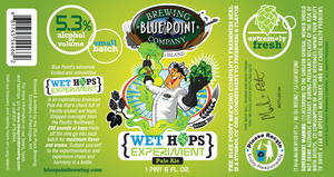 Blue Point Wet Hops Experiment Pale