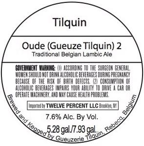 Tilquin Oude (gueuze Tilquin) 2