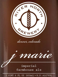 River North Brewery J Marie