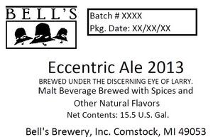 Bell's Eccentric Ale 2013