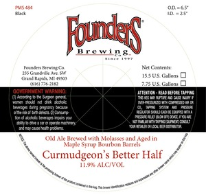 Founders Better Half Curmudgeon