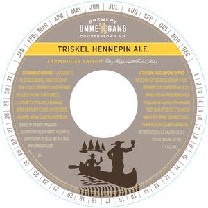 Ommegang Triskel Hennepin Ale