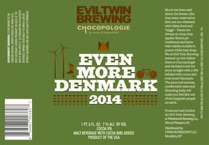 Evil Twin Brewing Even More Denmark 2014