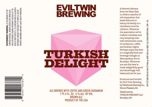 Evil Twin Brewing Turkish Delight