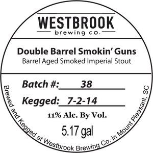 Westbrook Brewing Double Barrel Smokin Guns