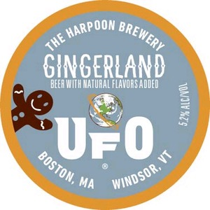 Harpoon Brewery Gingerland