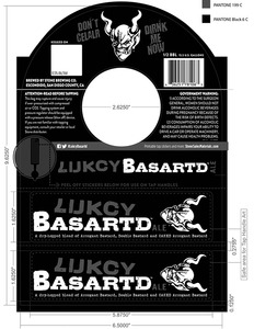 Stone Brewing Co Lucky Basardt Ale