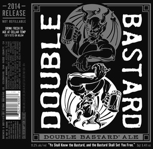 Stone Brewing Co Double Bastard Ale