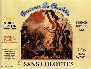 Brasserie La Choulette Les Sans Culottes