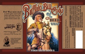 Wyoming Territory Brewing Co Buffalo Bill Cody