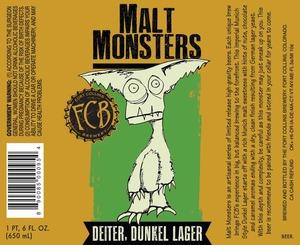 Fort Collins Brewery Deiter, Dunkel