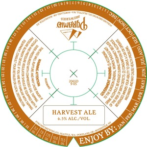 Pyramid Harvest Ale September 2014