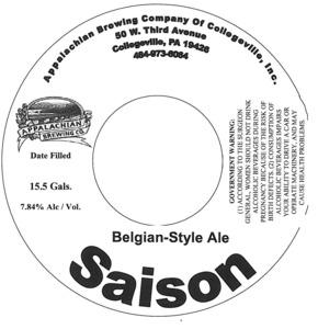 Appalachian Brewing Co Saison