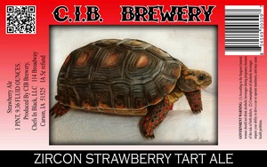 Cib Brewery Zircon Strawberry Tart