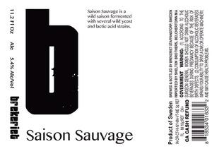 Brekeriet Saison Sauvage