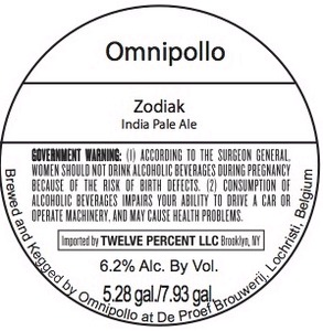 Omnipollo Zodiak Keg Beer Syndicate