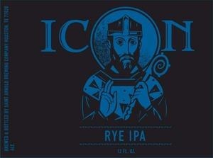 Saint Arnold Brewing Company Icon Rye IPA