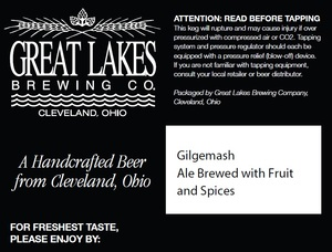 The Great Lakes Brewing Co. Gilgemash