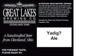 The Great Lakes Brewing Co. Yadig?