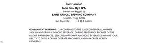 Saint Arnold Brewing Company Icon Blue Rye IPA