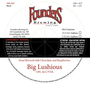 Founders Big Lushious