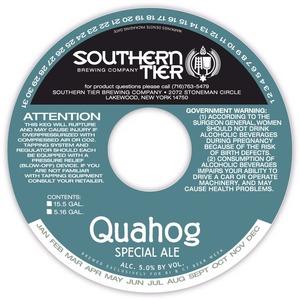 Southern Tier Brewing Company Quahog Special Ale