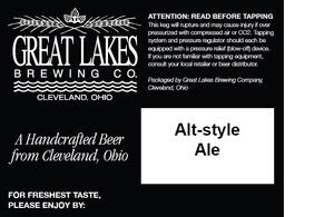 The Great Lakes Brewing Co. Alt-style