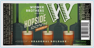 Widmer Brothers Brewing Company Hopside Down September 2014