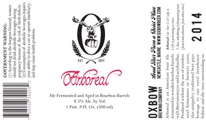 Oxbow Brewing Company Arboreal
