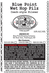 Blue Point Wet Hops Pilz