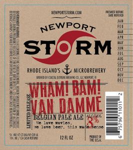 Newport Storm Wham! Bam! Van Damme