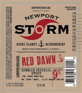 Newport Storm Red Dawn