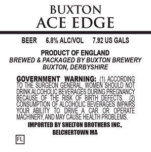 Buxton Brewery Ace Edge