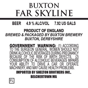 Buxton Brewery Far Skyline
