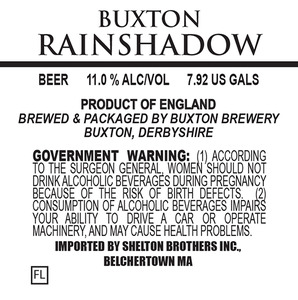 Buxton Brewery Rainshadow