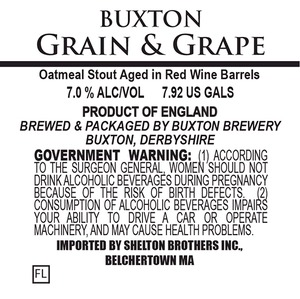 Buxton Brewery Grain And Grape